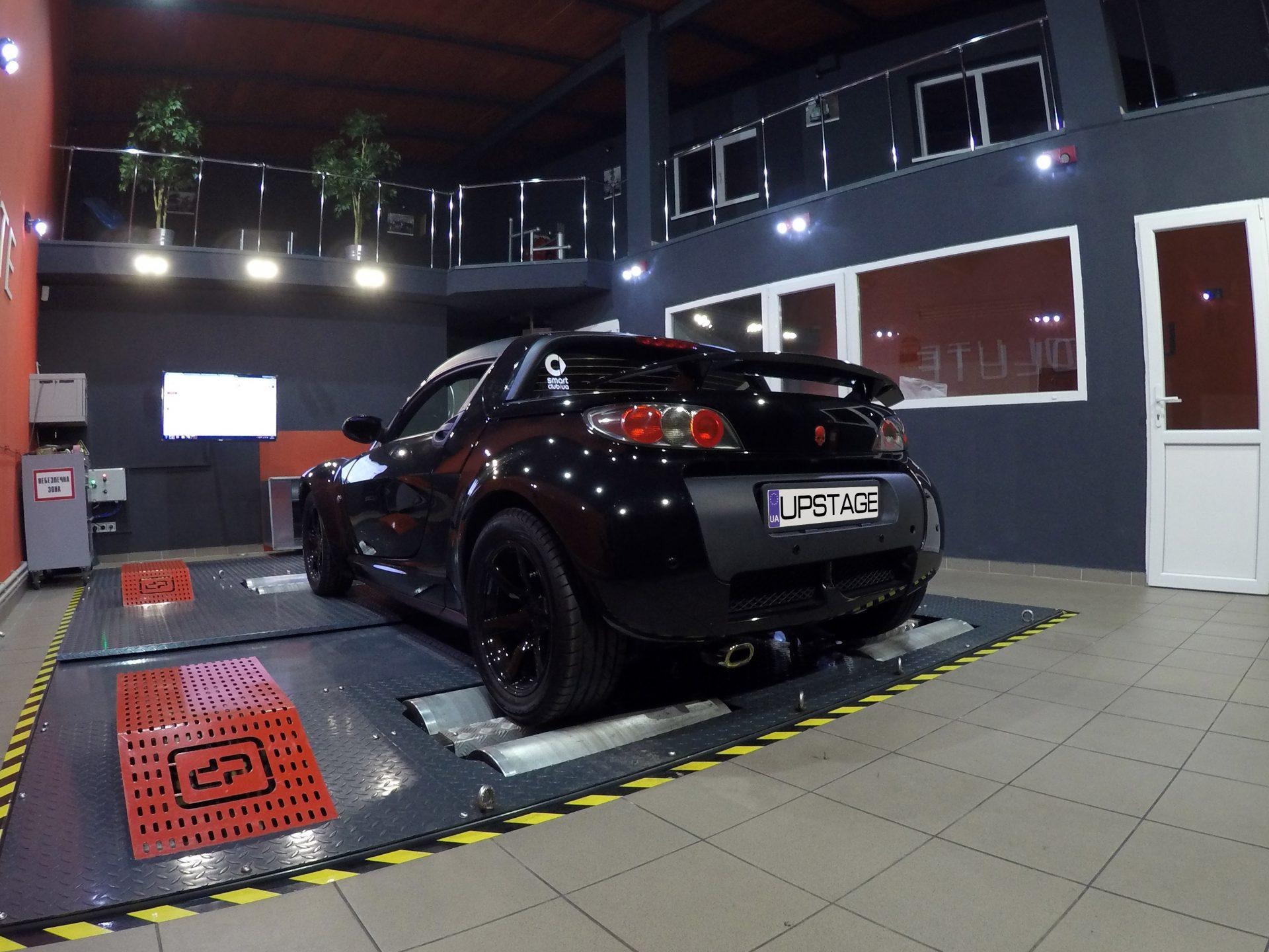 чип тюнинг smart roadster