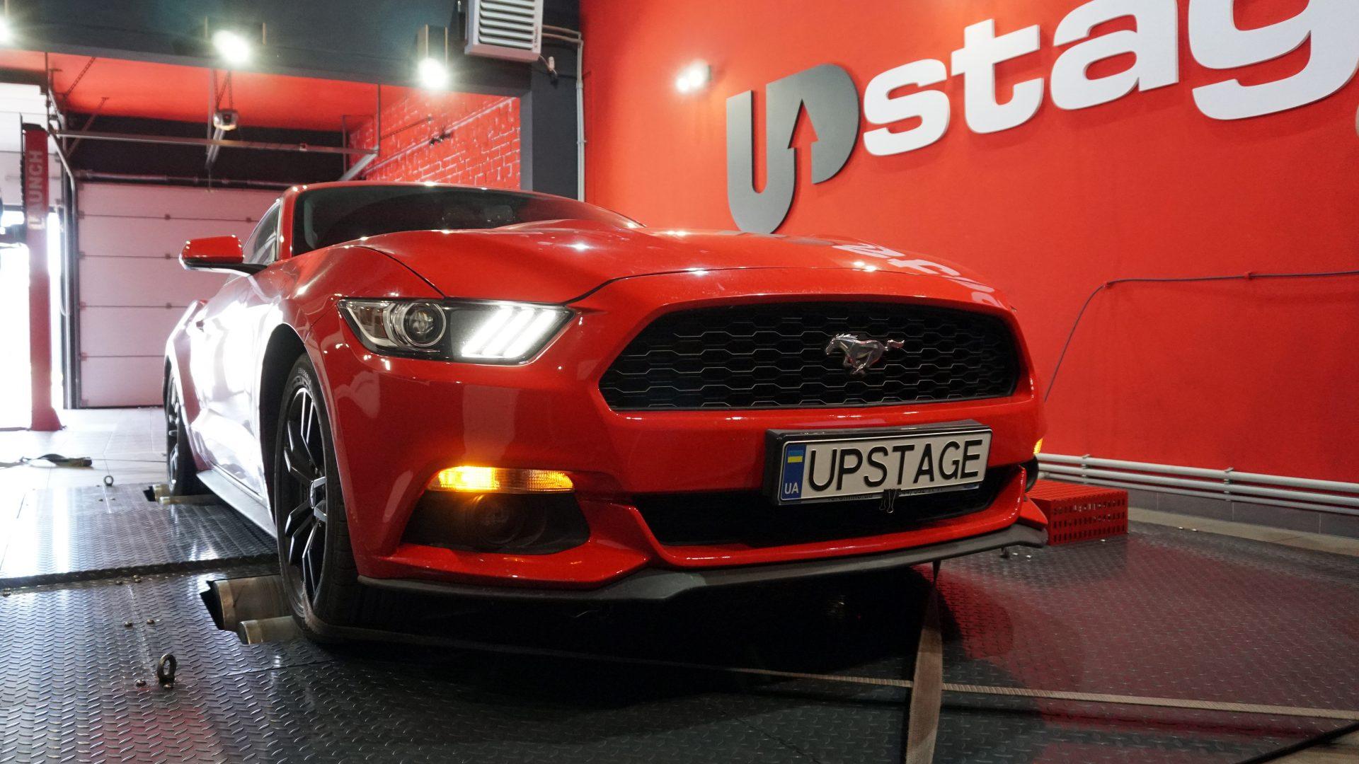 чип тюнинг Ford Mustang 2.3T
