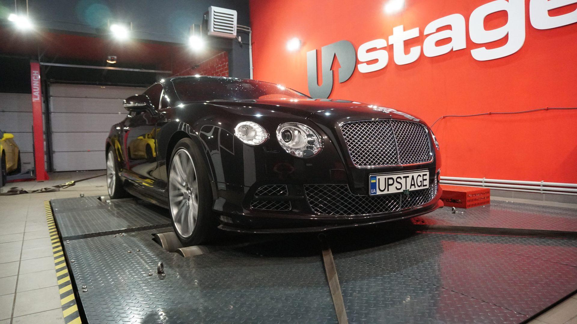 Чип тюнинг Bentley Continental GT