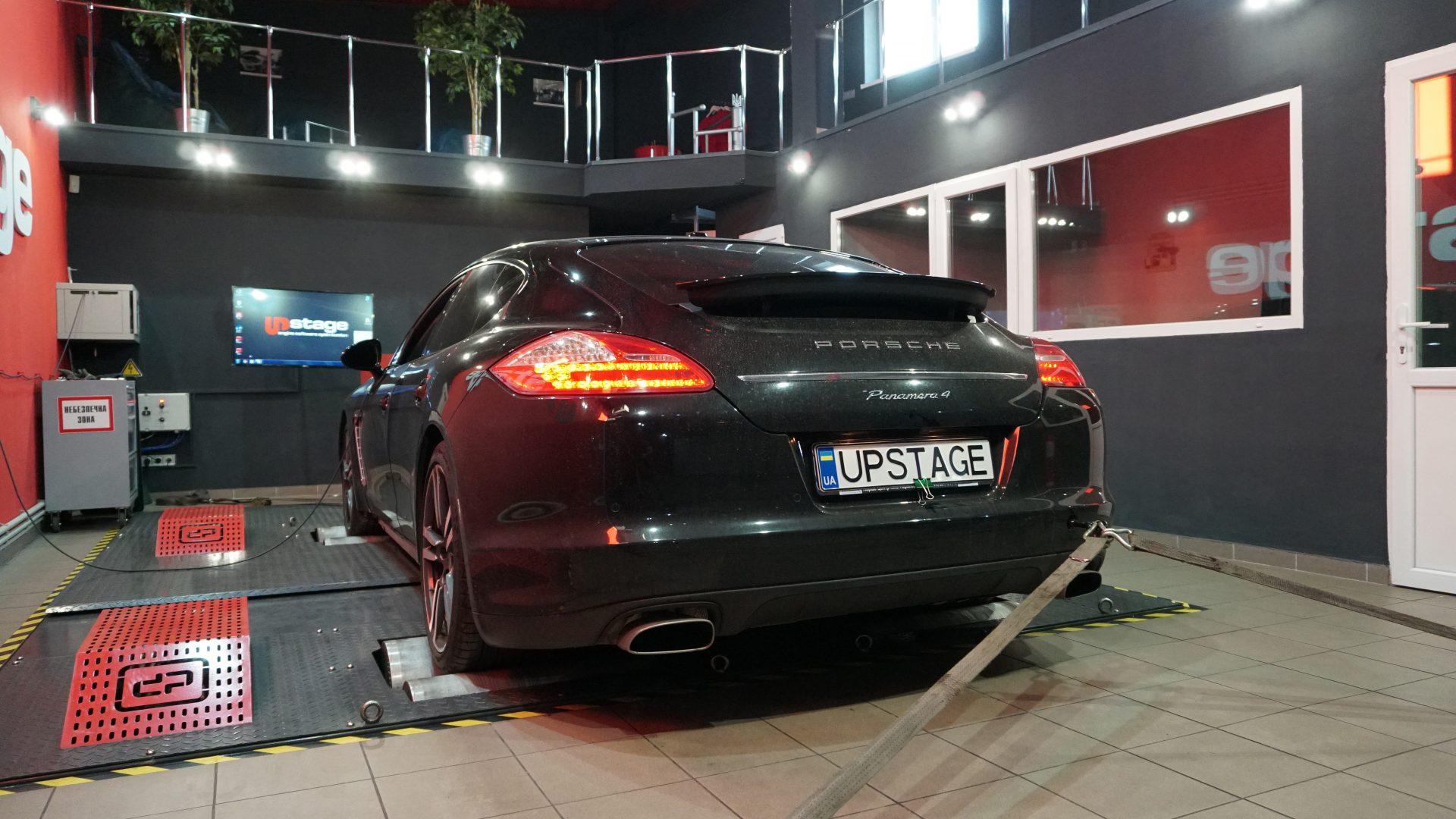 чип тюнинг Porsche Panamera 3.6i