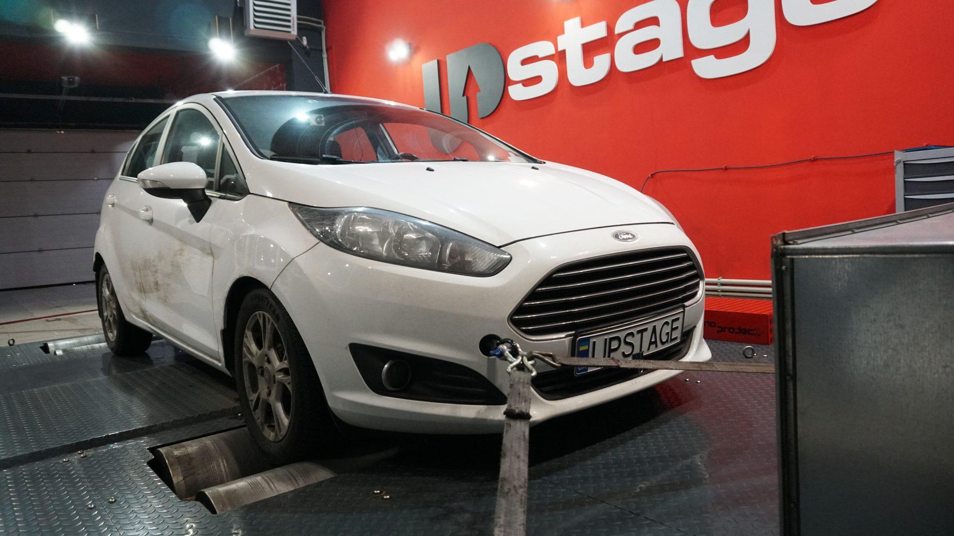 чип тюнинг Ford Fiesta 1.0t