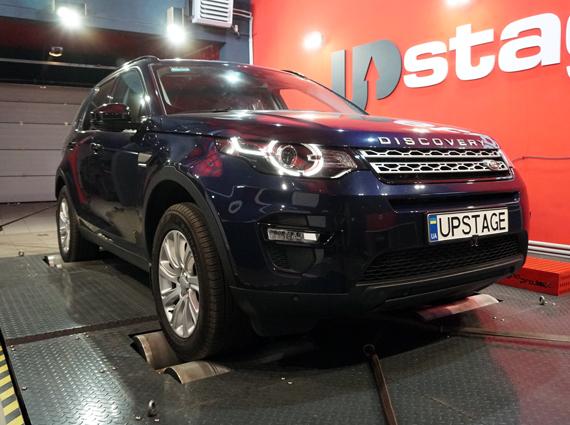 чип тюнинг Land Rover Discovery Sport 2.2D