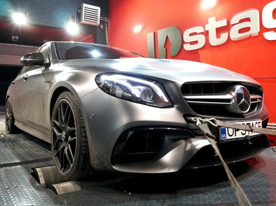 чип тюнинг Mercedes Benz E63S AMG