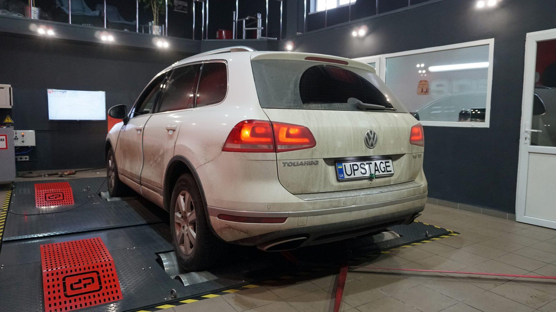 чип тюнинг Volkswagen Touareg 3.0d