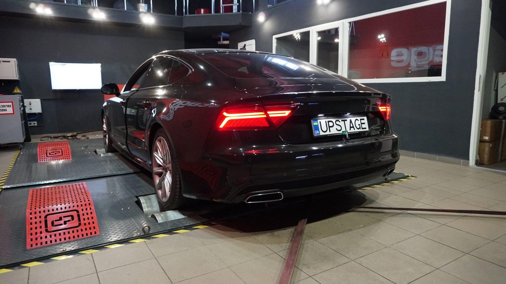 чип тюнинг Audi A7 3.0 TDI Biturbo