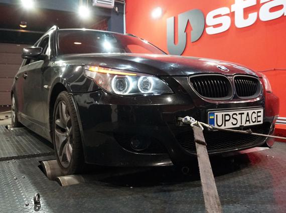 чип тюнинг BMW 530D E60