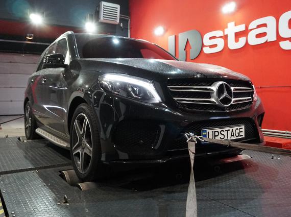 чип тюнинг, Mercedes-Benz GLE 250d