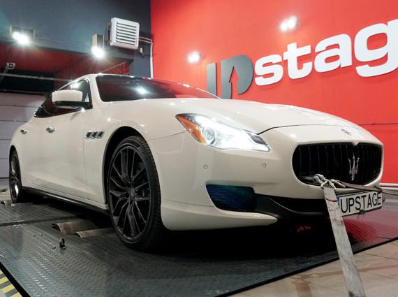 чип тюнинг Maserati Quattroporte 3.8 Bi-Turbo
