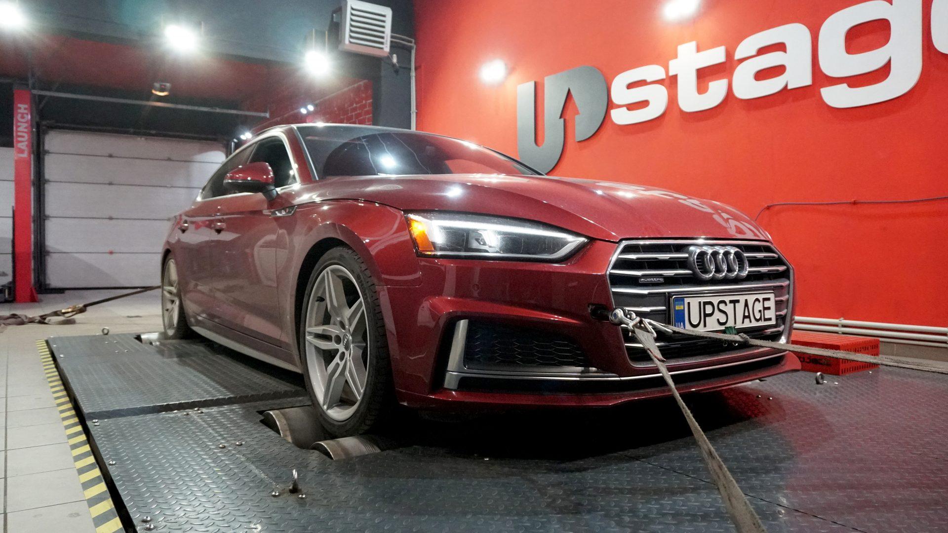 чип тюнинг Audi A5 2.0 TFSI
