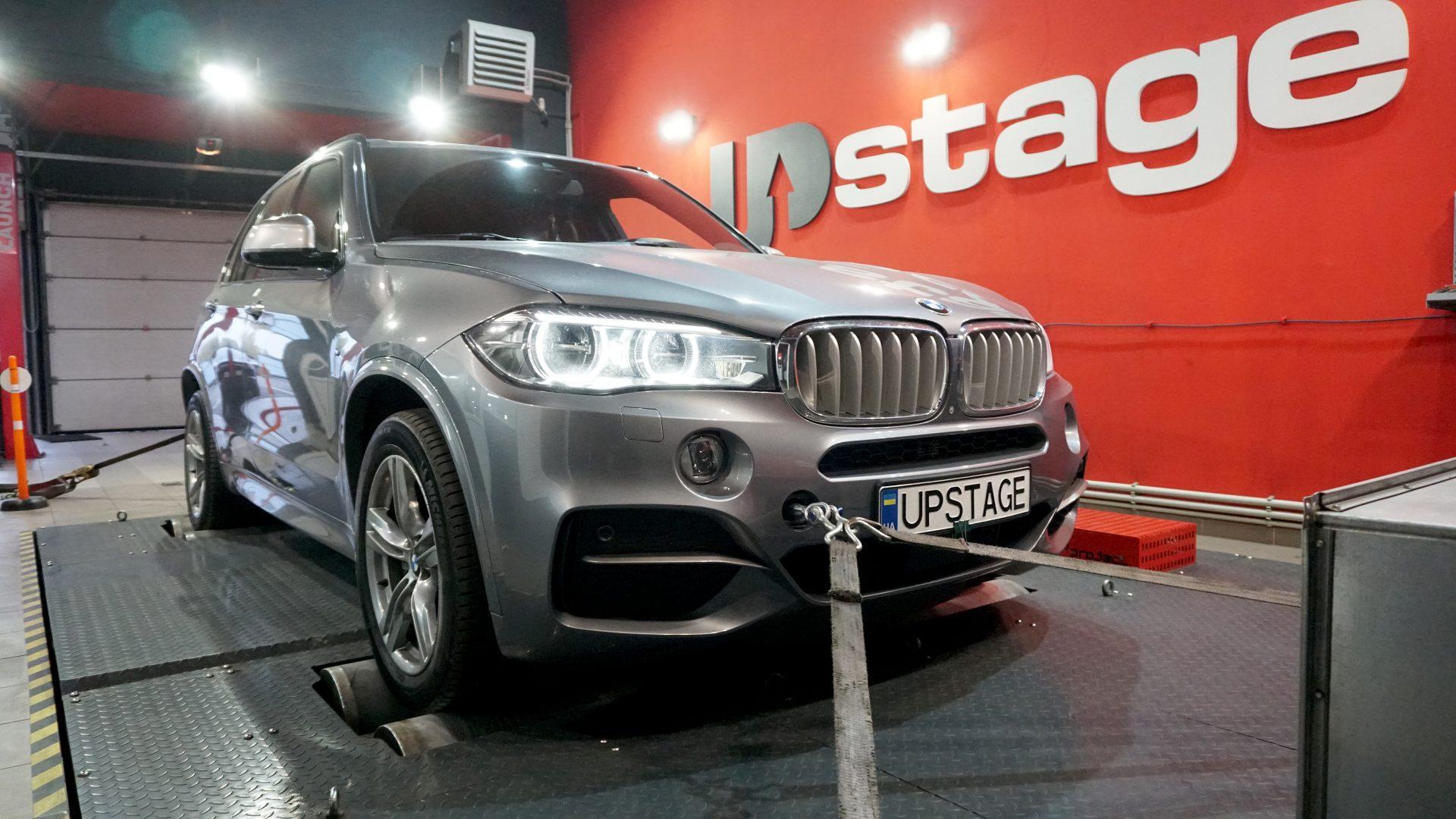 чип тюнинг BMW X5 M50D