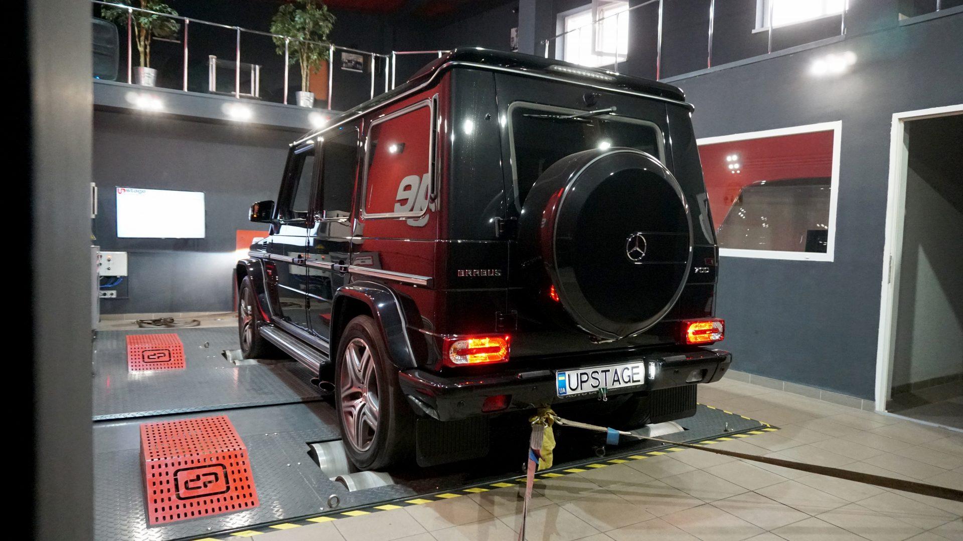 чип тюнинг Mercedes Benz G63 AMG