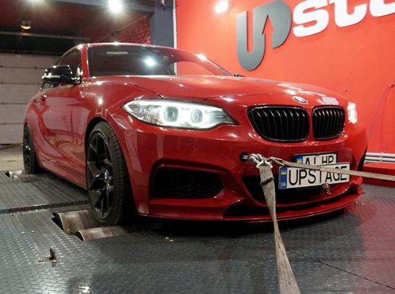 чип тюнинг BMW M235i X-Drive