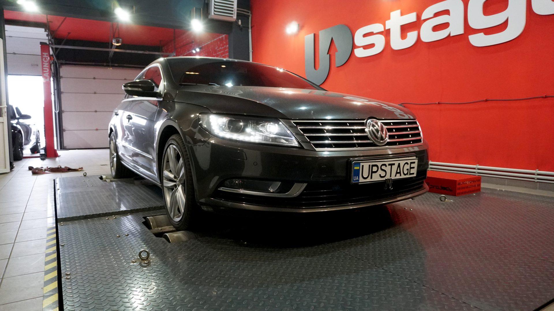 чип тюнинг Volkswagen Passat CC 2.0 TSI