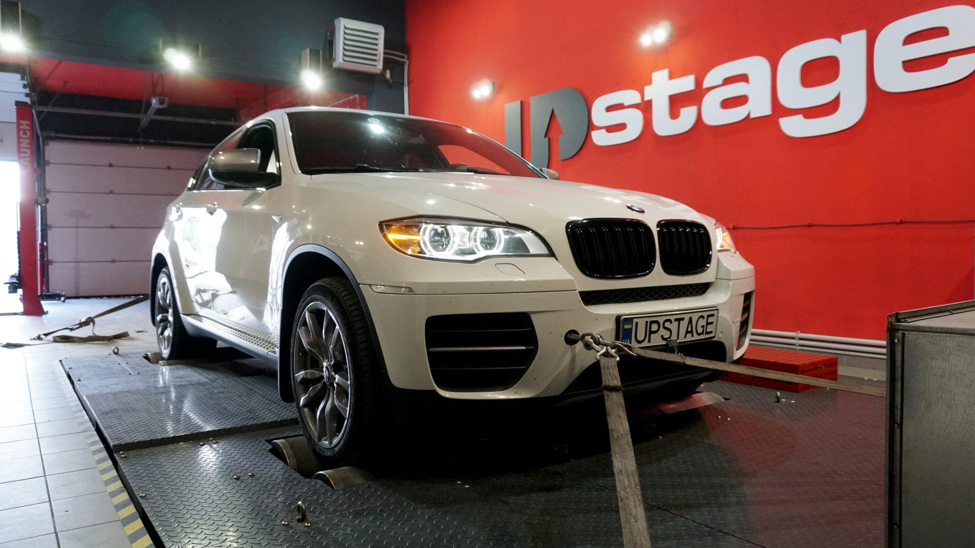 чип тюнинг BMW X6 M50D