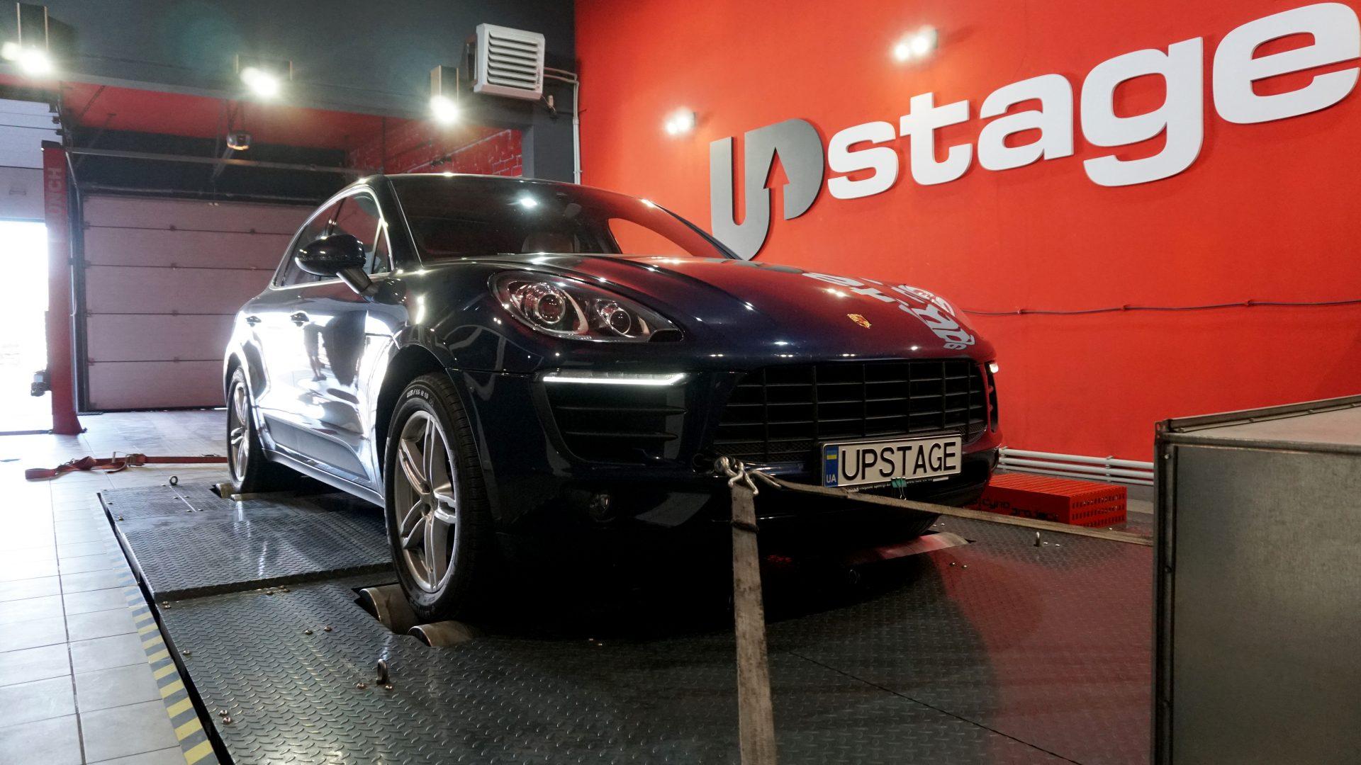 чип тюнинг Porsche Macan S