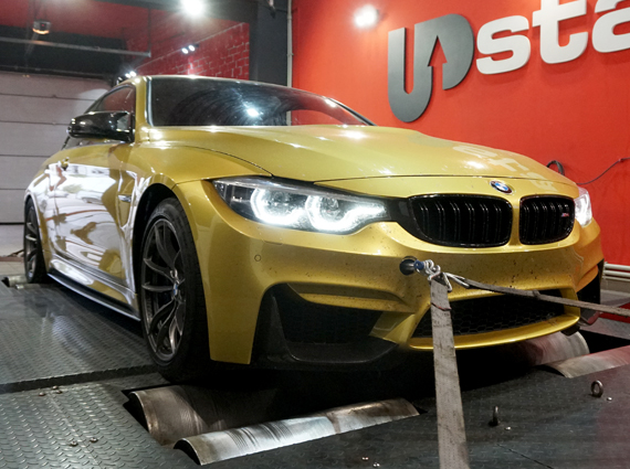 чип тюнинг BMW M4 Coupe F82