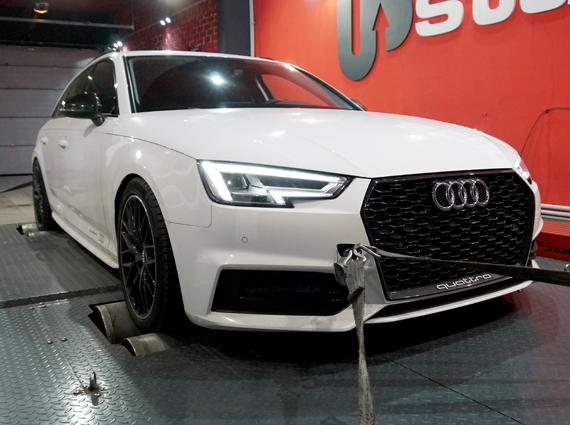 чип тюнинг Audi A4 2.0 TFSI
