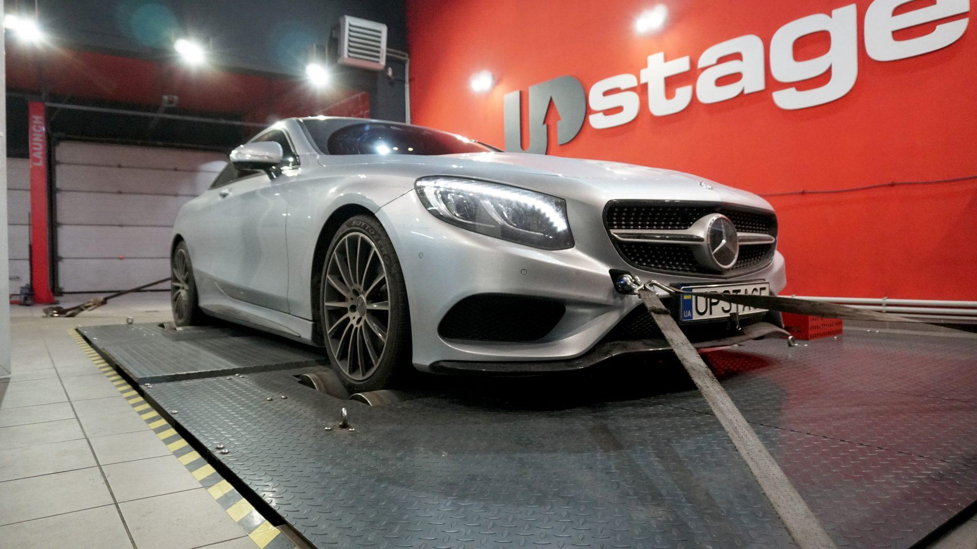 чип тюнинг Mercedes Benz S500 Coupe