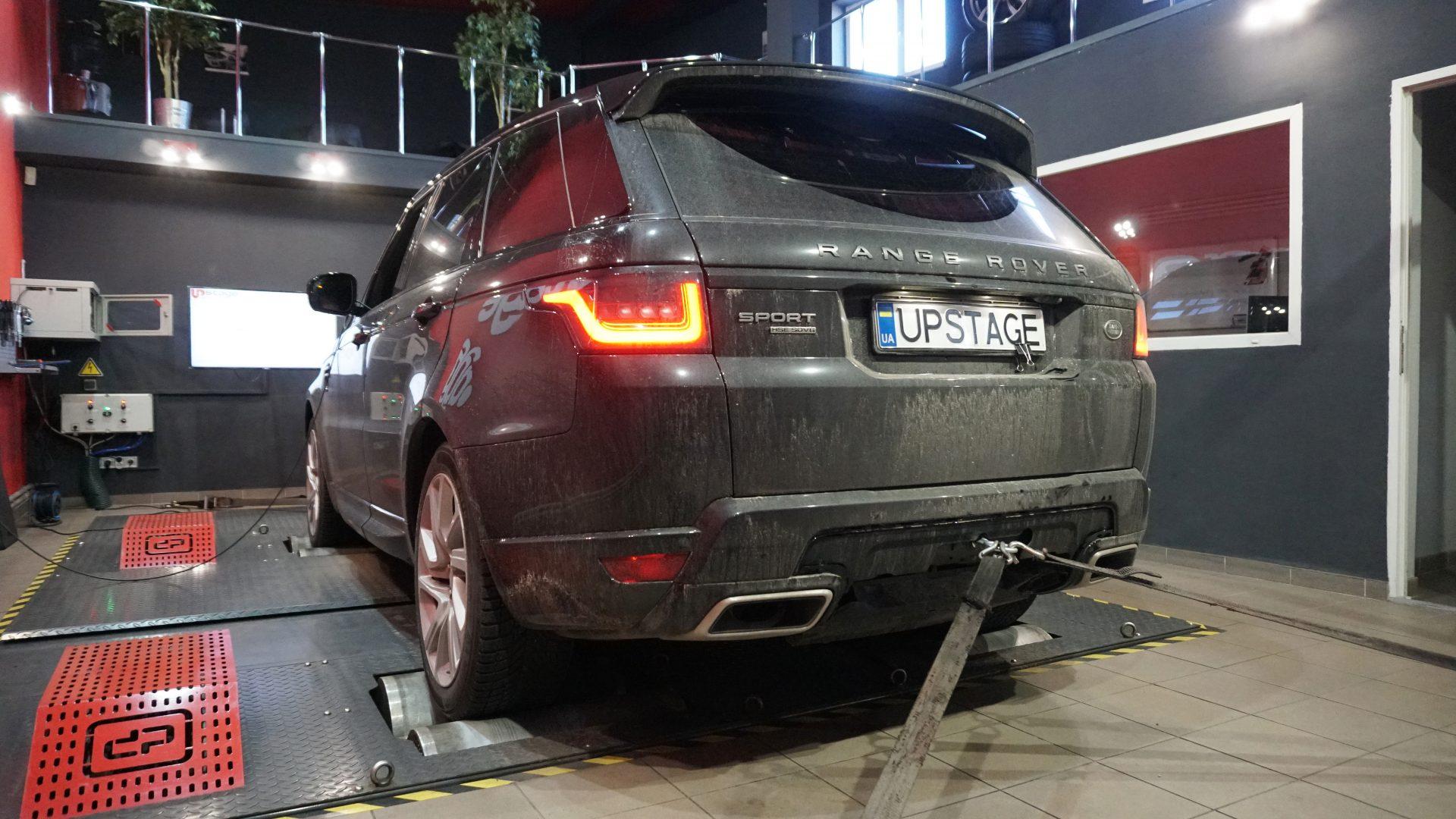 чип тюнинг Range Rover Sport