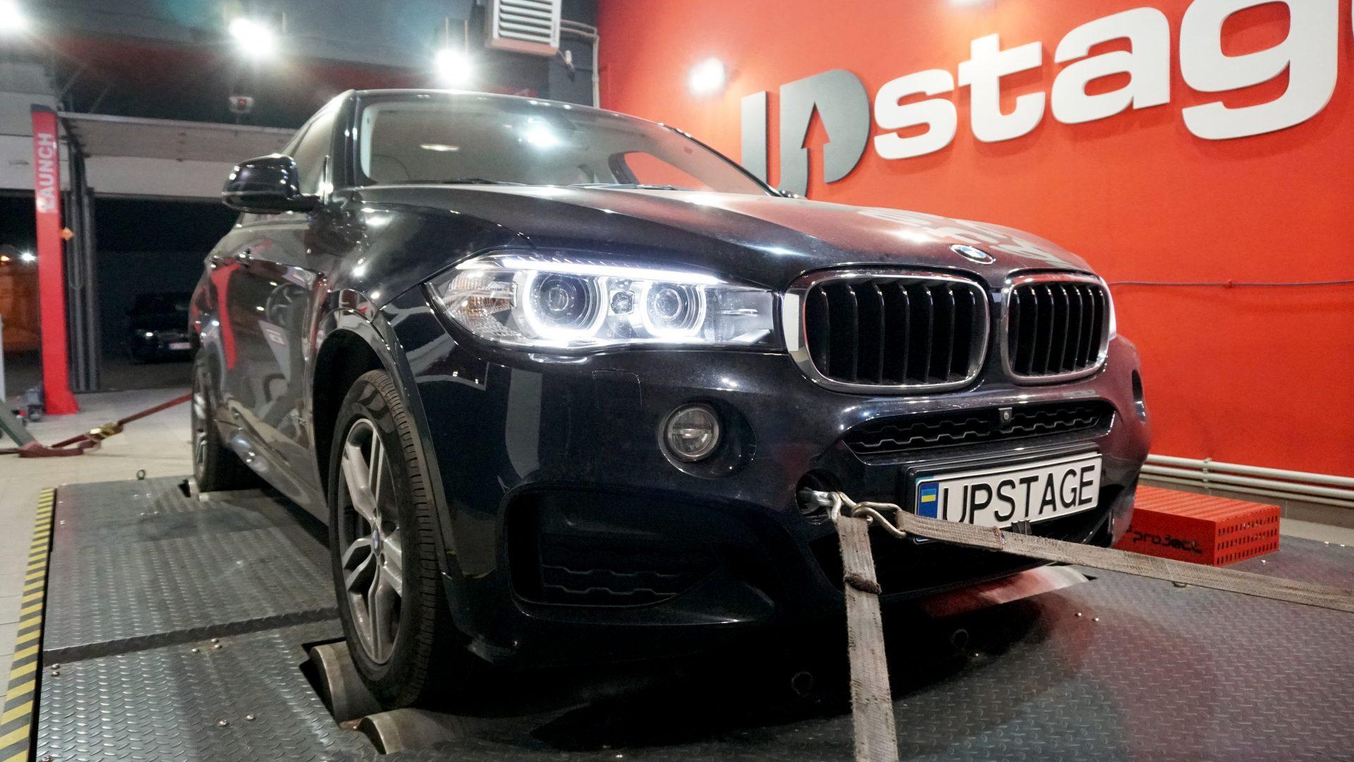 чип тюнинг BMW X6 30D