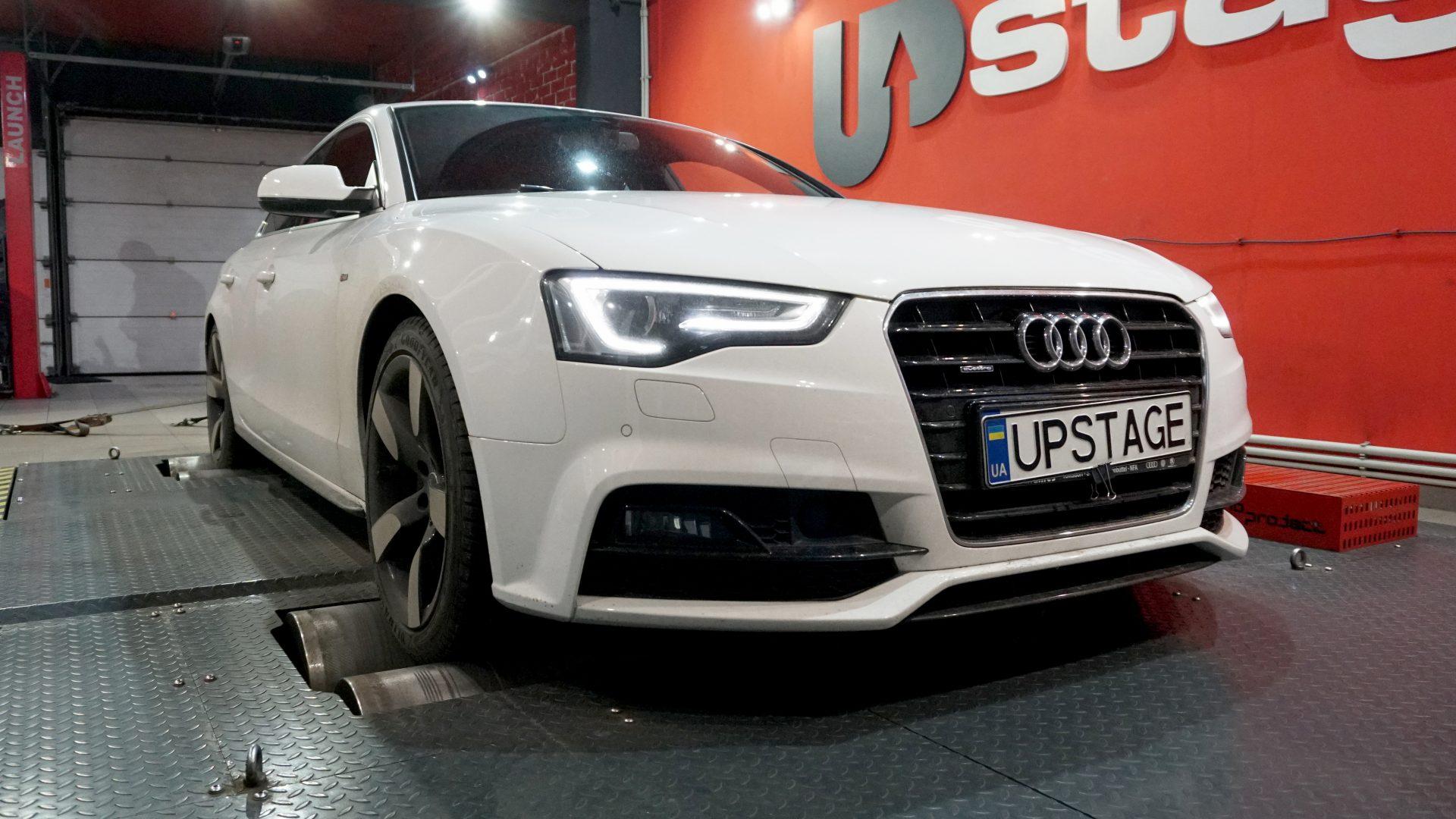 чип тюнинг Audi A5 3.0 TDI V6