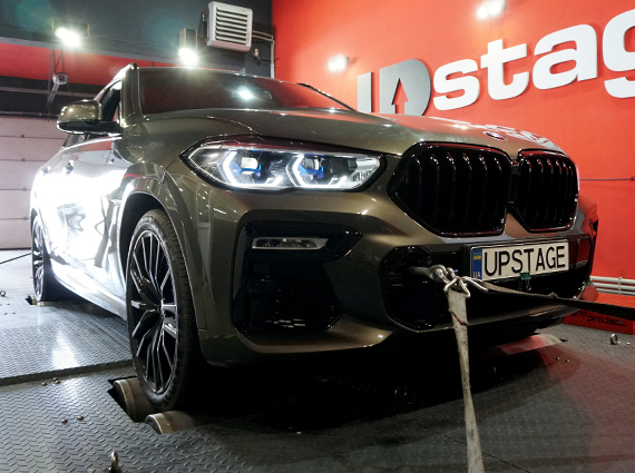 чип тюнинг BMW X6 M50d G06