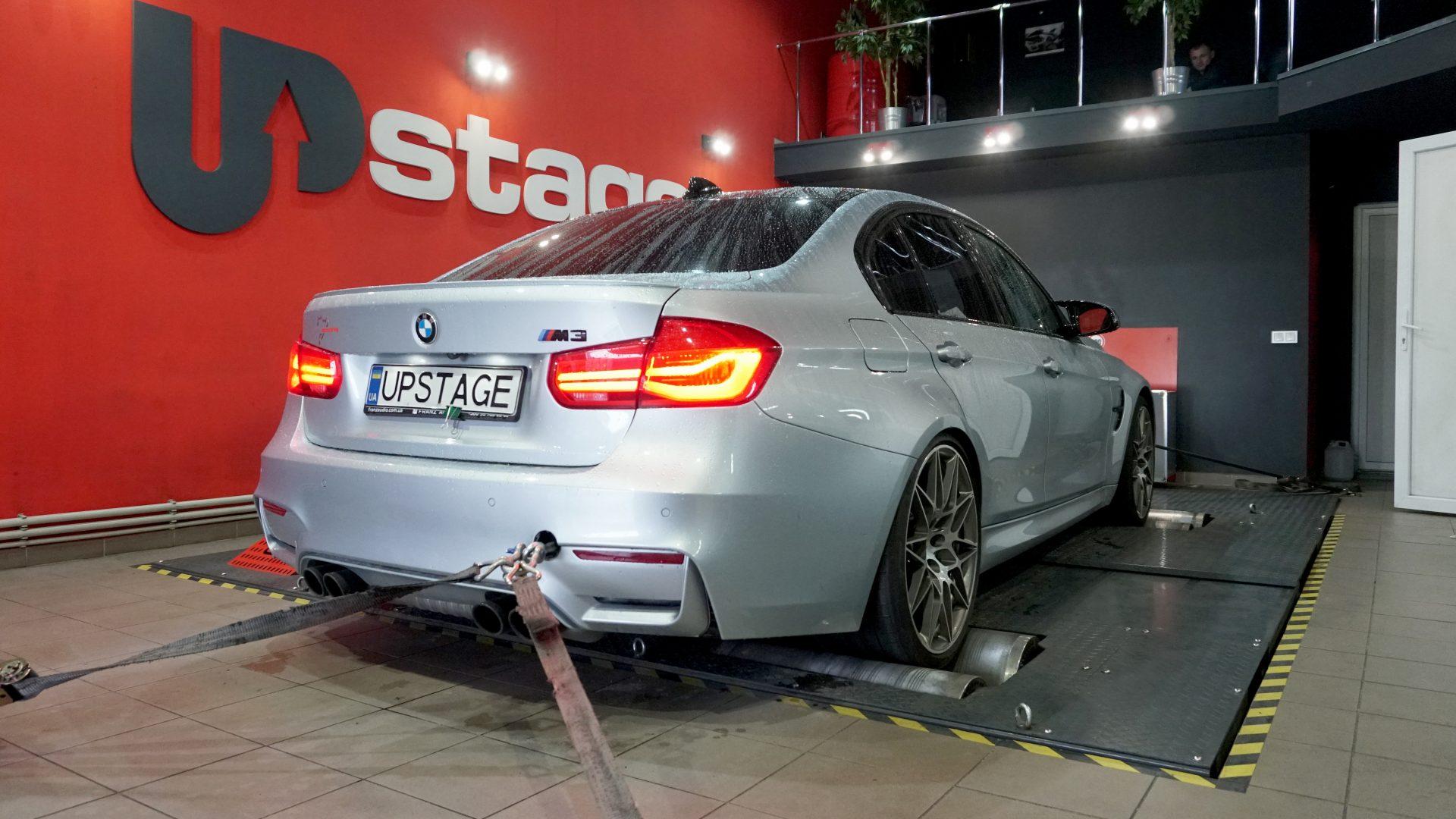 чип тюнинг BMW M3 Competition