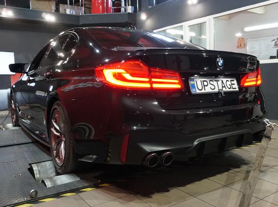 чип тюнинг BMW 540i G30