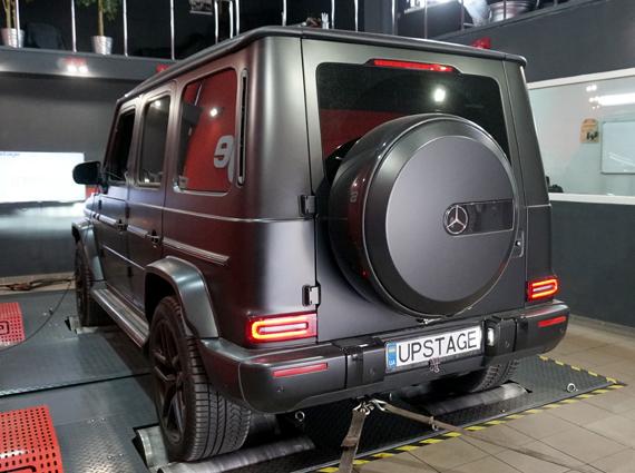 чип тюнинг Mercedes-Benz G 350D