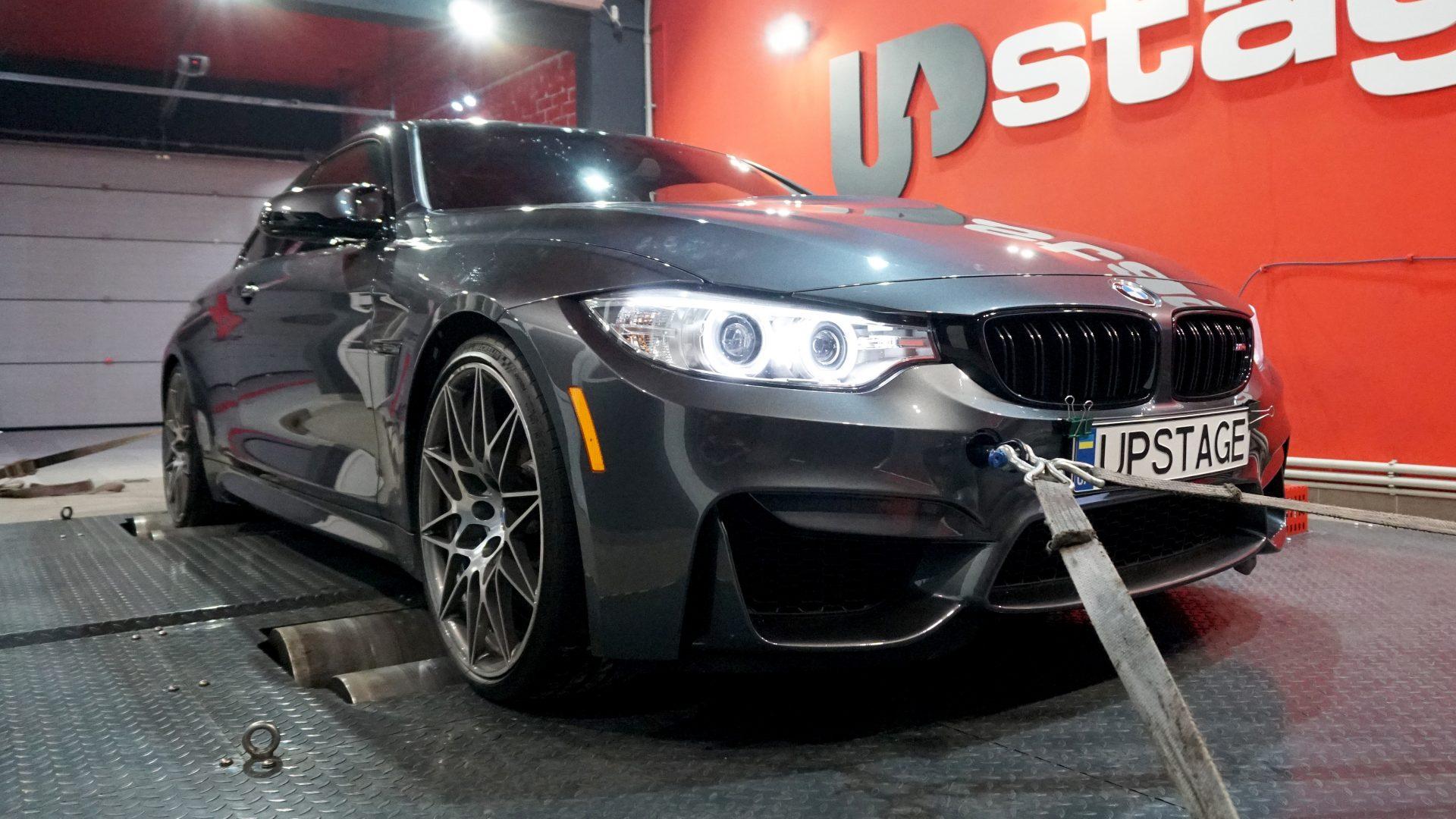 чип тюнинг BMW M4 Competition