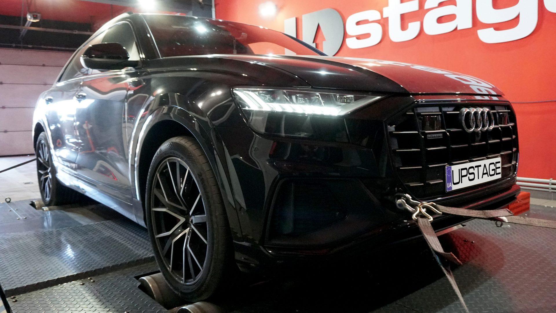 чип тюнинг Audi Q8 50 TDI