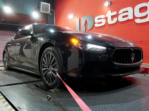 чип тюнинг Maserati Ghibli 3.0 V6 S Bi-Turbo