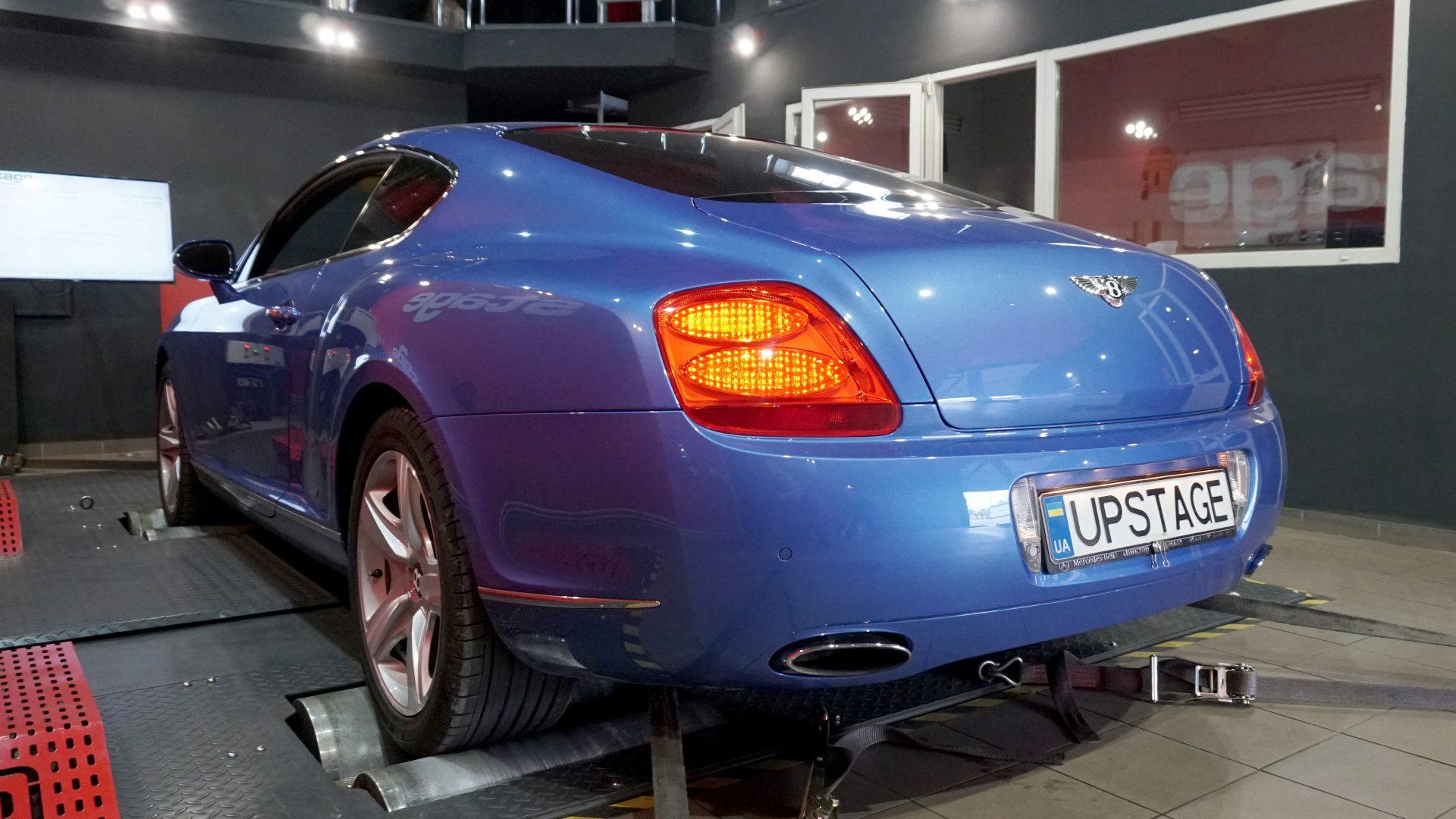 чип тюнинг Bentley Continental GT 6.0 W12 Bi-Turbo