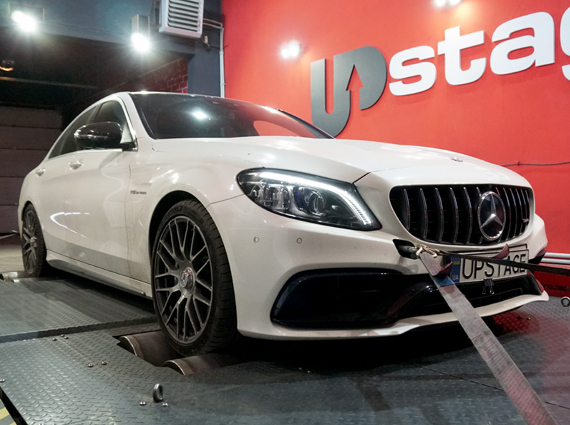 чип тюнинг Mercedes – Benz C63 AMG