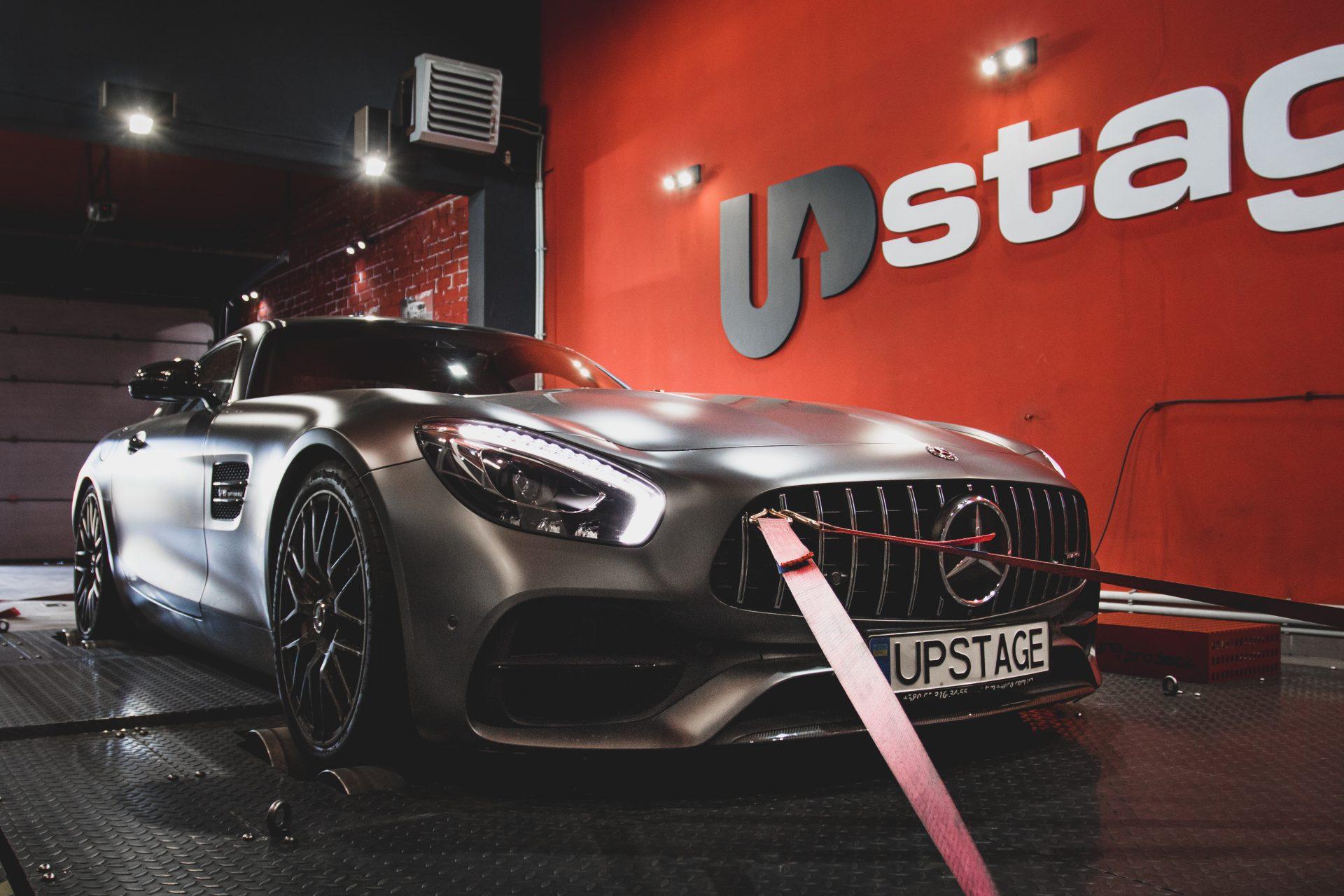 чип тюнинг Mercedes-Benz AMG GT S