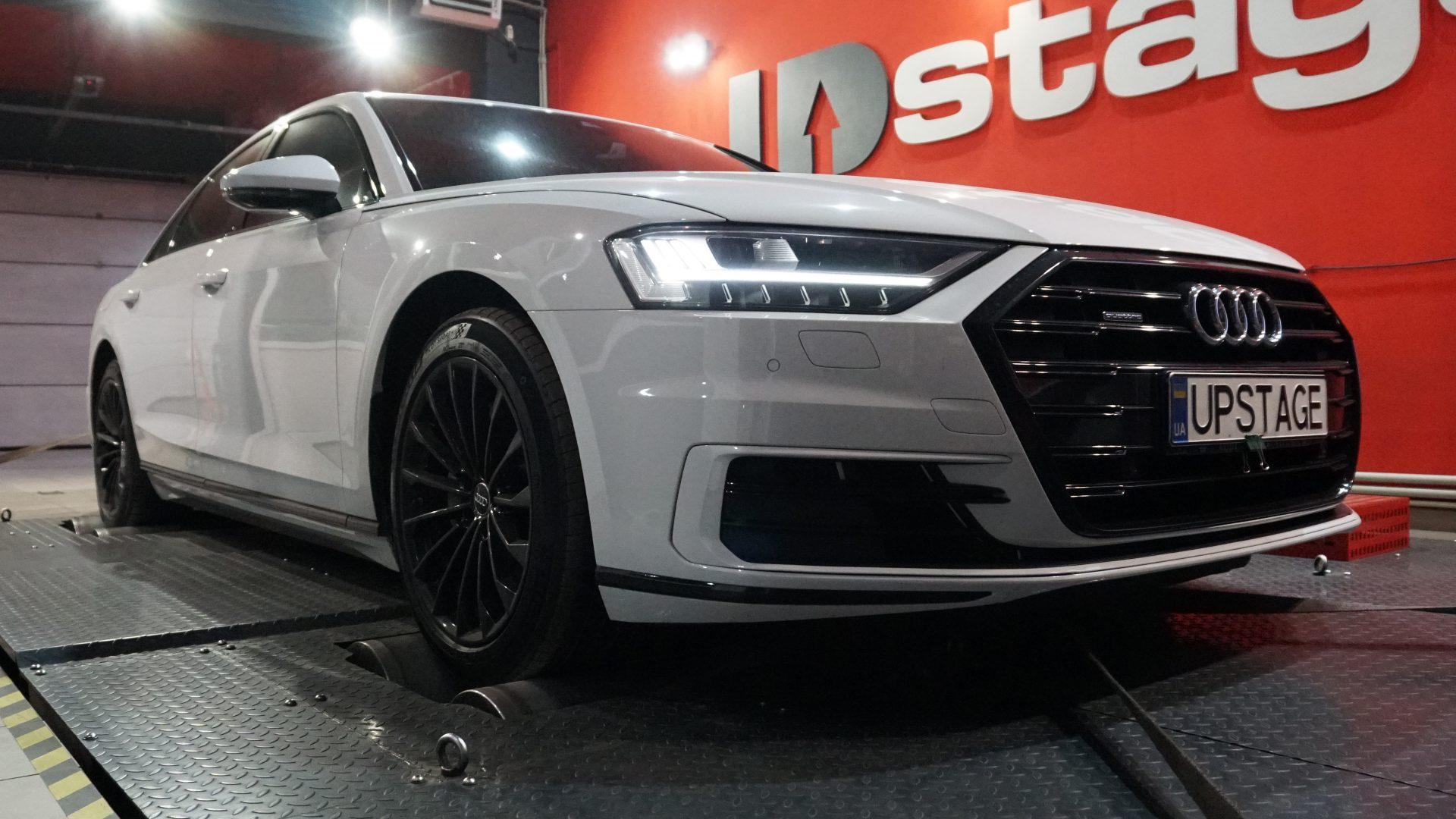 чип тюнинг Audi A8 50 TDI