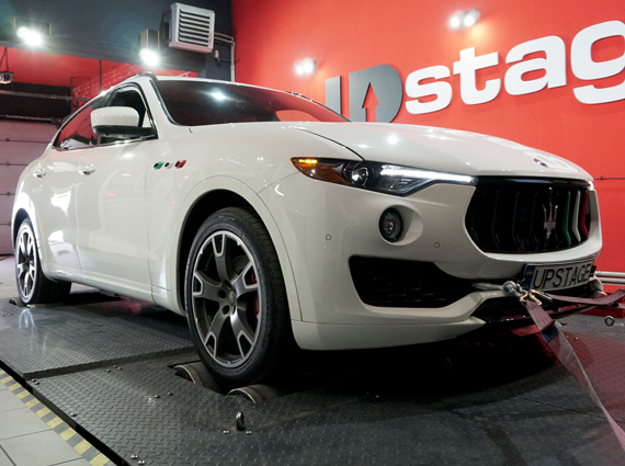 чип тюнинг Maserati Levante 3.0 V6 Bi-Turbo