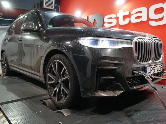 чип тюнинг BMW X7 40i G07