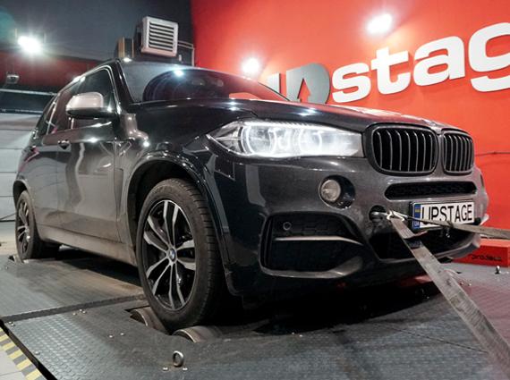чип тюнинг BMW X5 M50D F15
