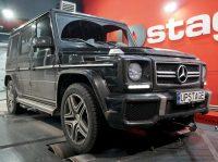 чип тюнинг Mercedes-Benz G63 AMG 5.5 Bi-Turbo